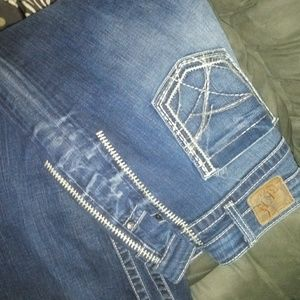 Bke jeans kate 30x33 stretchy